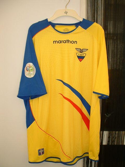 Ecuador Soccer Adult Mens T-Shirt FIFA