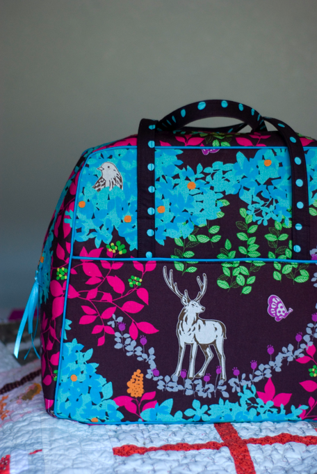 images about Making the Amy Butler Weekender Bag on