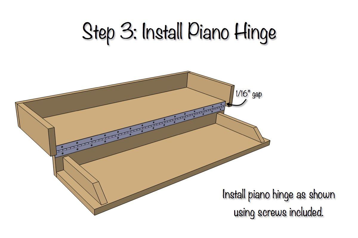 DIY Secret Floating Shelf - Free Plans   Arbeitsplätze, Wohnzimmer ...