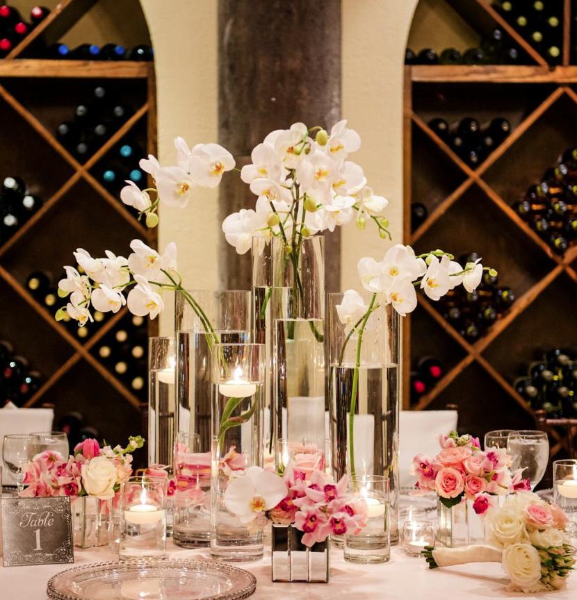 Wedding Reception Flower Centerpieces: Drop-Dead Gorgeous Houston Wedding