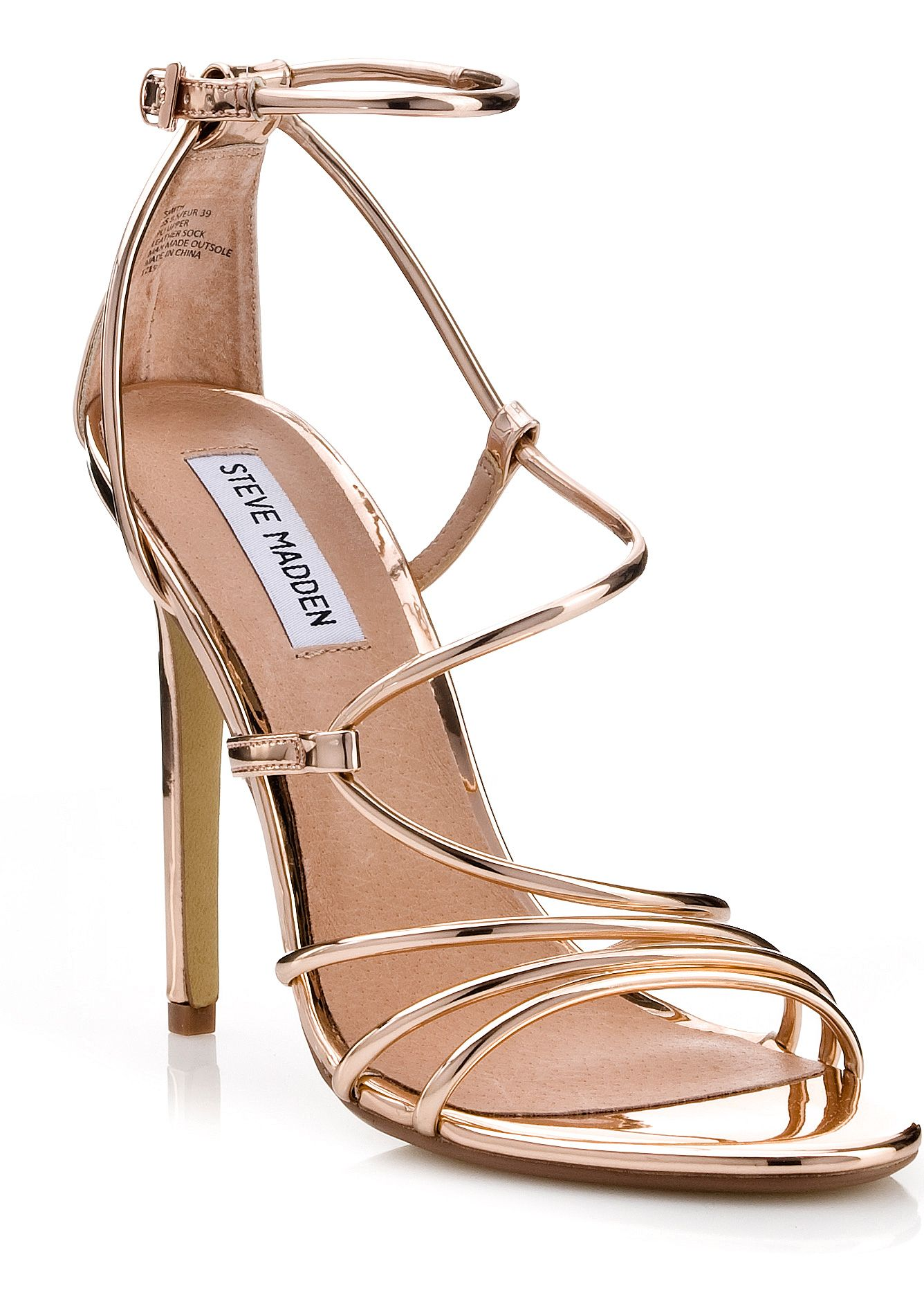 a20da026a510 Steve Madden SMITH Rose Gold How To Make Shoes