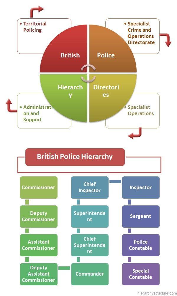 British Police Hierarchy Hierarchy Law School Application Police