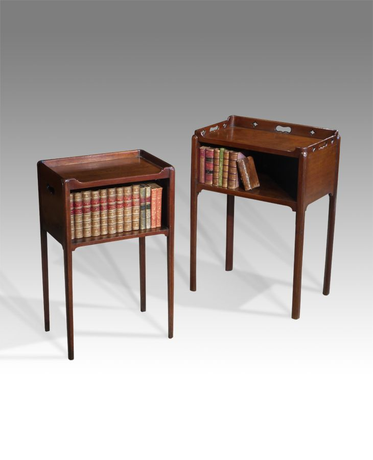 Pair Of Antique Bedside Table
