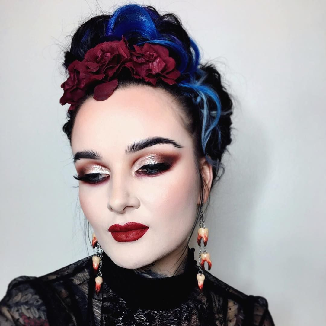 7 673 Likes 116 Comments Ida Ekman Ida Elina On Instagram Can You Guess Who Inspired Me To Create Today 39 S Halloween Face Makeup Face Makeup Makeup