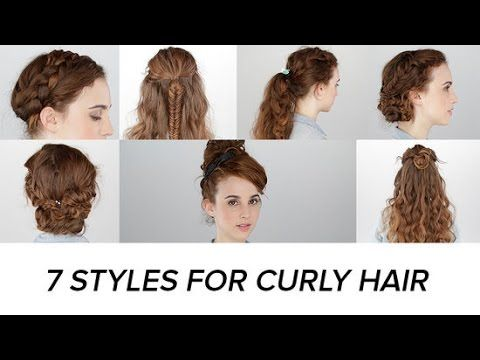 Easy Hairstyles For Curly Hair Stunning Httparganoilbenefitsbloghairstyles7Easyhairstylesfor