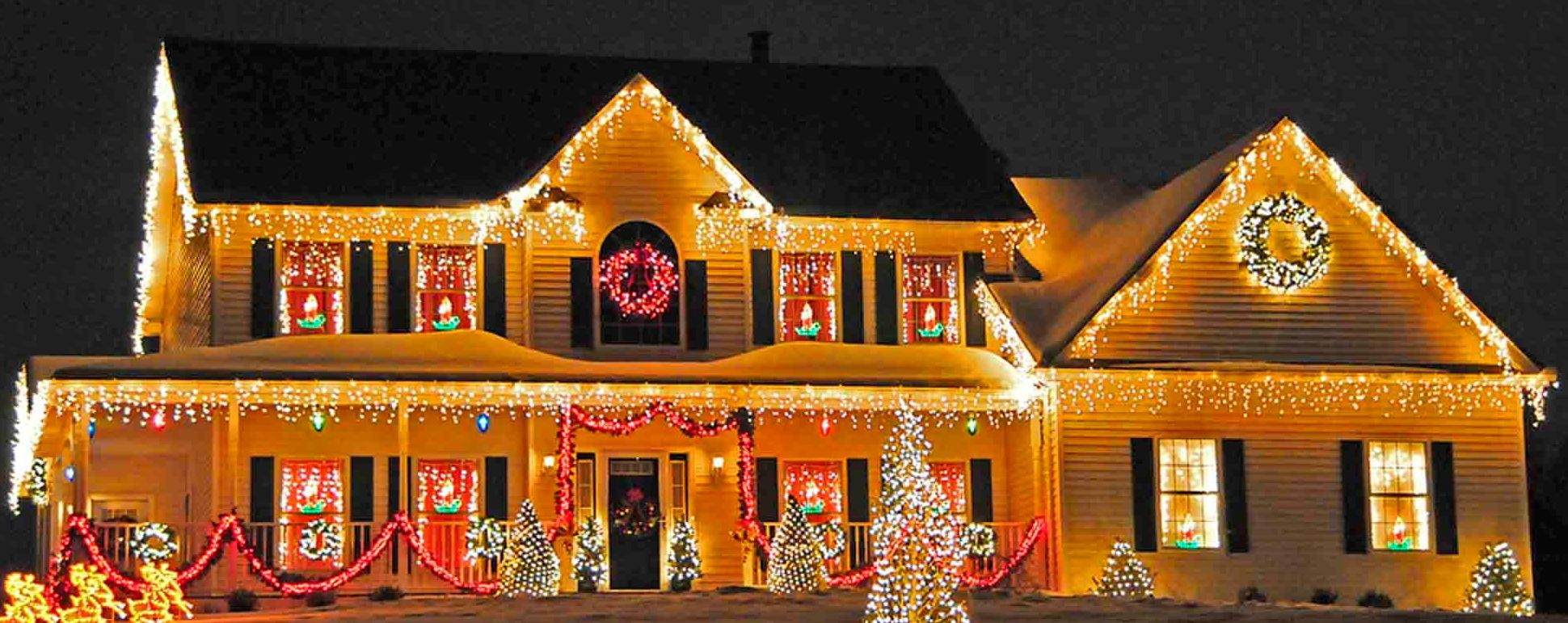 Best Images About Beautiful Christmas Lights On Pinterest