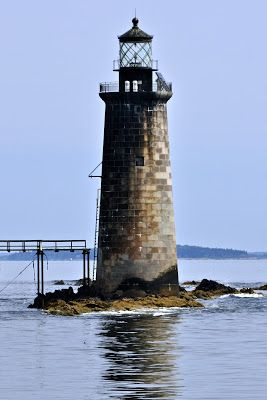 Maine Lighthouses and Beyond: Ram Island Ledge Lighthouse - August 2013. To enjoy my blog on lighthouses, flowers, and wildlife, tap on the photo.