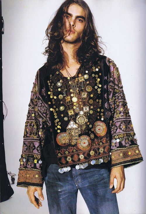 bohemian man clothes