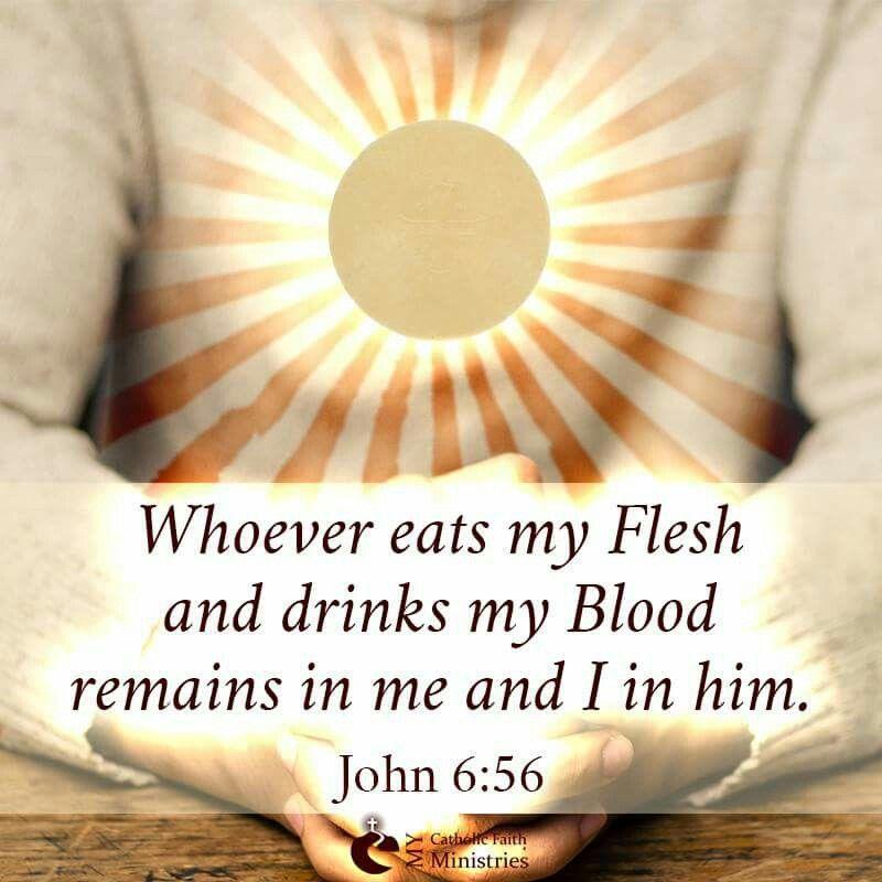 Hasil gambar untuk John 6:56-