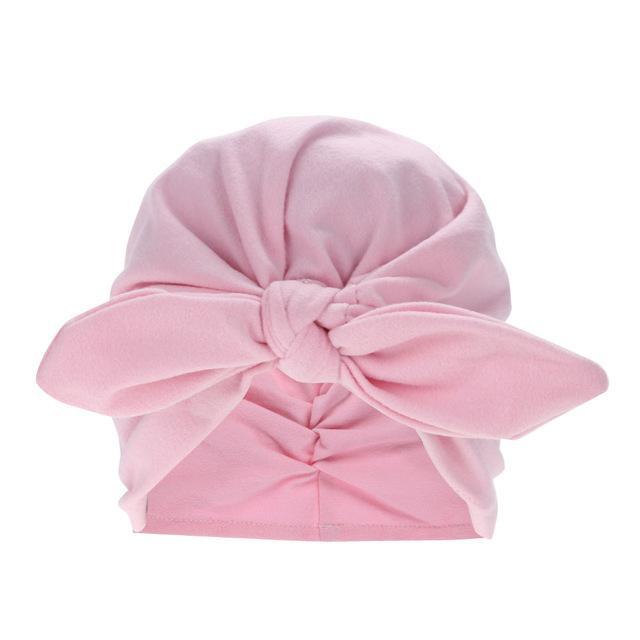 d177e220d5bd Buy Toddler Kids Baby Cotton Soft Turban Knot Hat Rabbit Ears ...