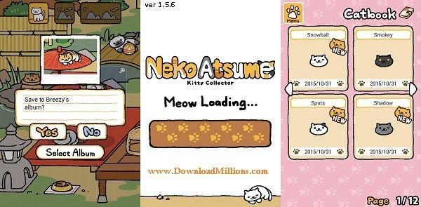 Neko Atsume Mod Apk v 1 56 Unlimited Gold Fish download No