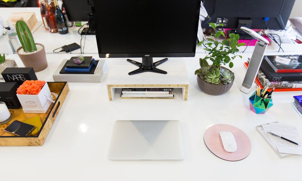 Cubicle Desk Decor Gold Pink Clear Work Cubicle Decor Office Space Decor Cubicle Decor Office