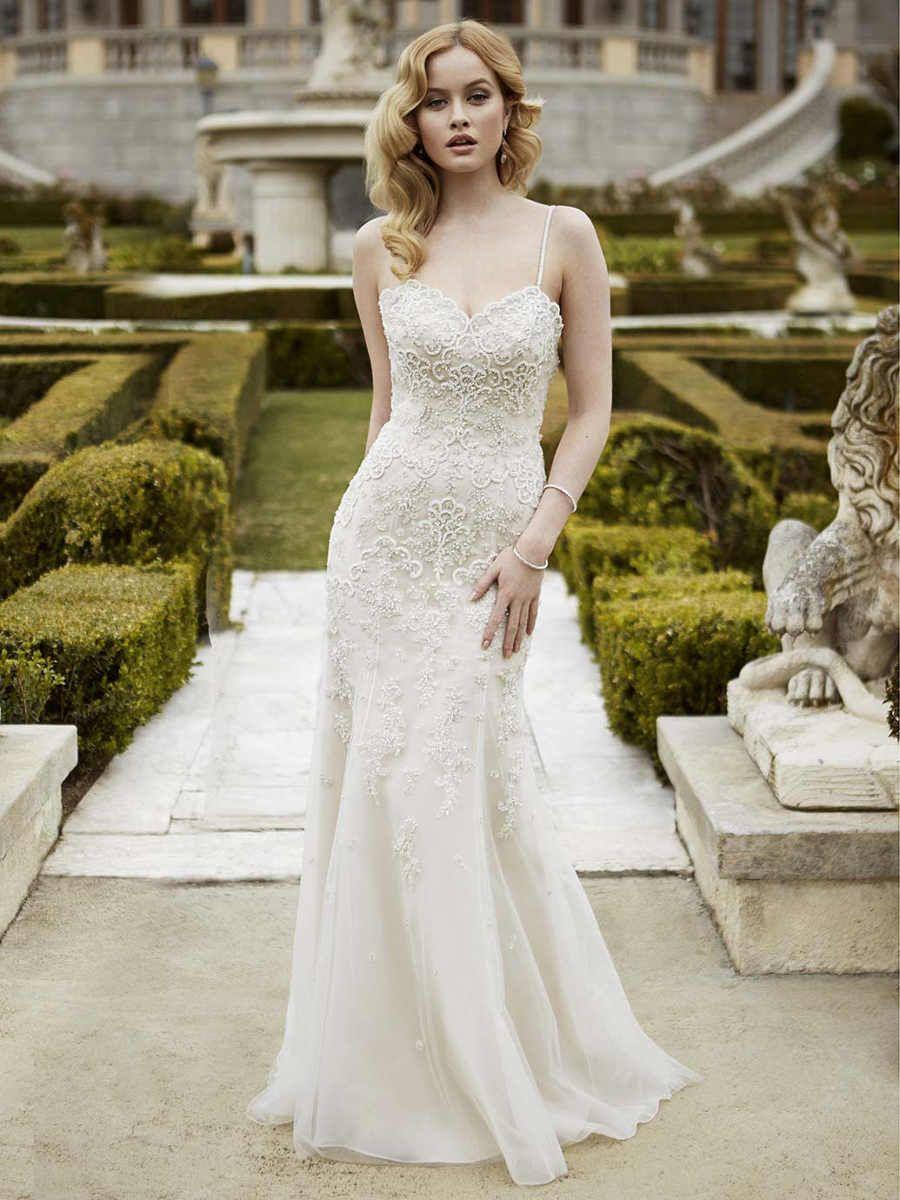Moderne Brautkleider von super schlicht bis extravagant glamourös ...