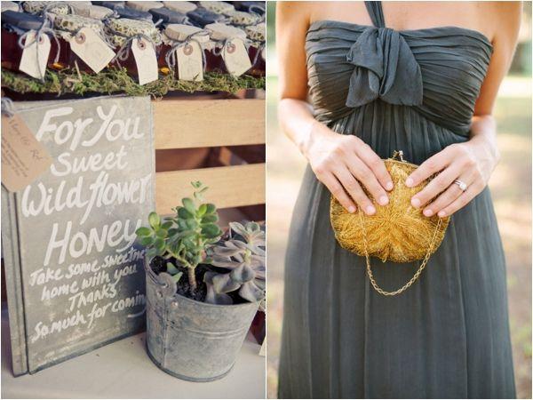 grey gold bridesmaid dresses - Google Search | Centerpieces ...
