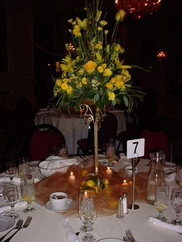 50th Anniversary Centerpieces Silk Flowers Flower Stores In