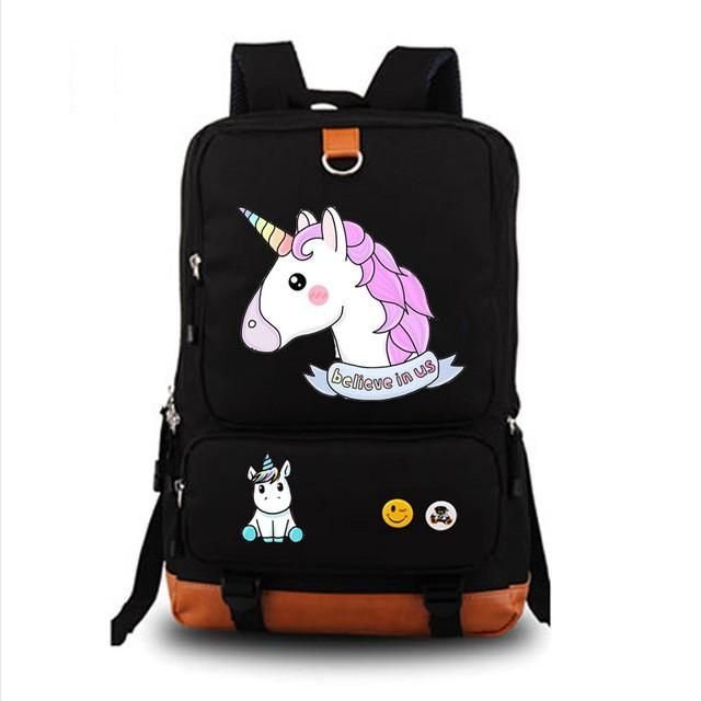05 Unicorn Personalised Pencil Case Game School Bag Kids Stationary