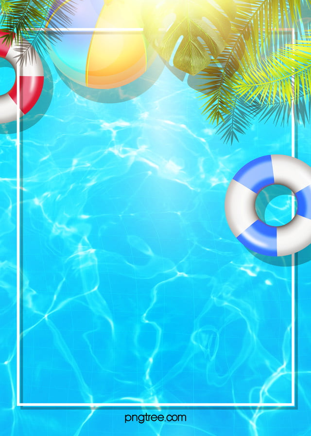 Color Creative Texture Hand Painted Swimming Pool Background Background Swimming Pictures Colorful Backgrounds