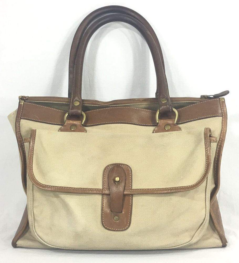 Marley Hodgson The Runabout No 9 Original Ghurka Leather Khaki Tote Purse Bag Ebay