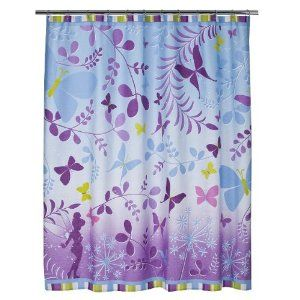 .Amazon.com: Disney Fairies Tinkerbell Fabric Shower Curtain - 72 X 72 inches: Home  Kitchen.