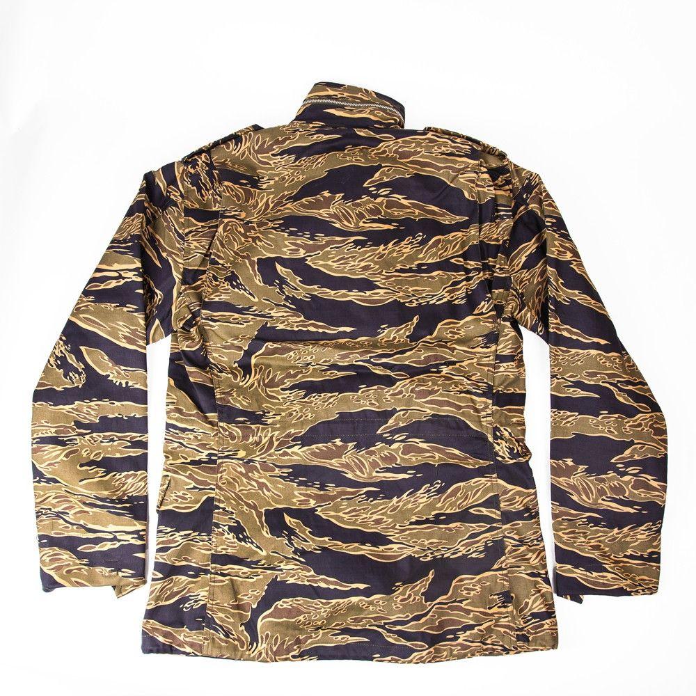 M 65 Gold Tiger Field Jacket Tiger Stripe Store Camo