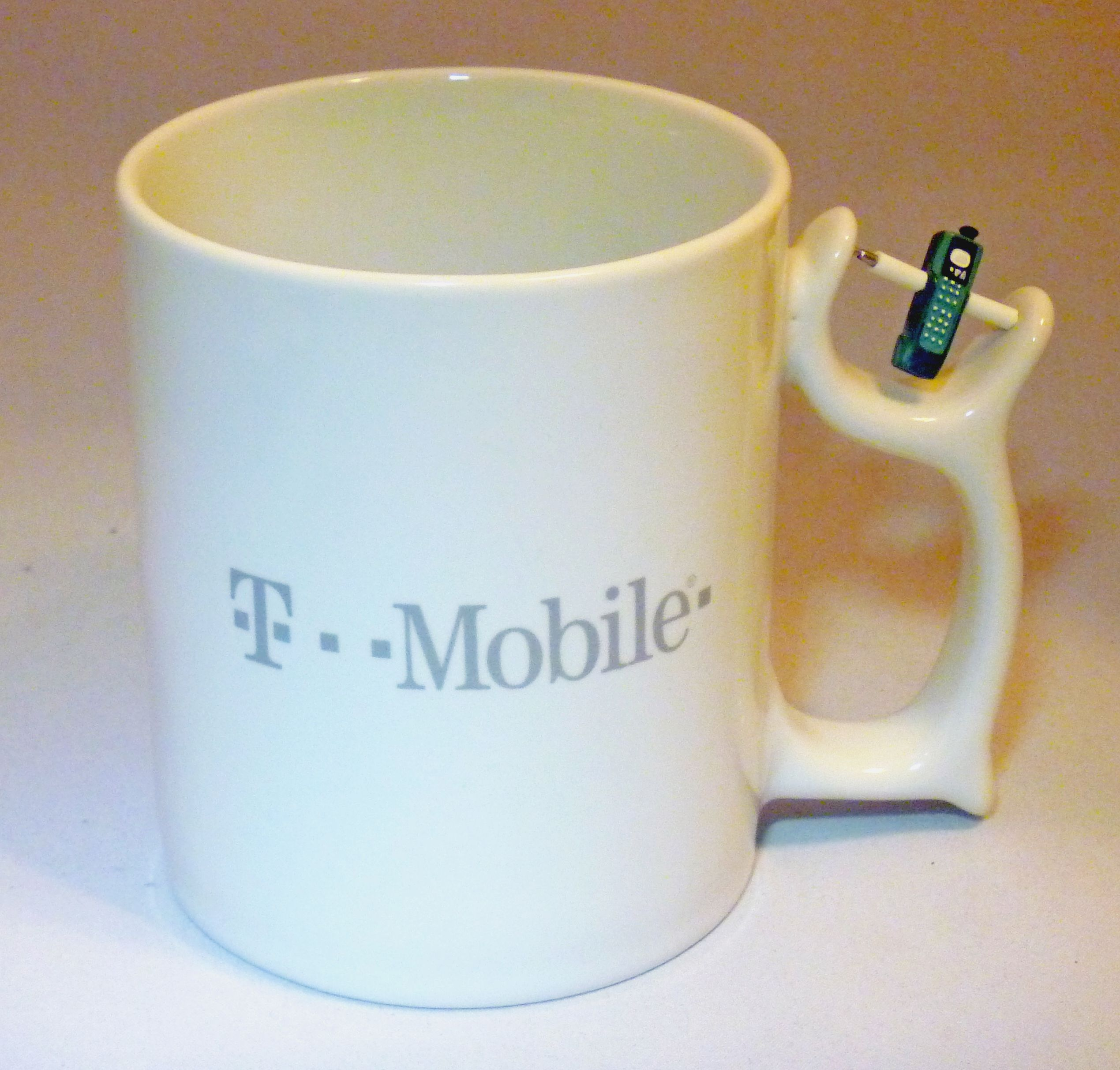 t mobile white coffee mug t mobile old logo spinners mobile