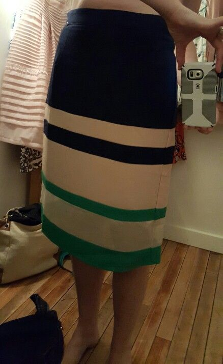 I like most everything about this skirt, but didn't buy it because the fabric didn't have a very nice feel. I was on the fence, though, and if it hadn't been quite so expensive it would have come home with me.