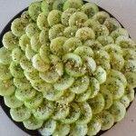 Cucumber Zaatar Salad -