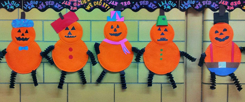 Halloween Paper plate \u0027people\u0027 pumpkins & Halloween Paper plate \u0027people\u0027 pumpkins | Arts \u0026 crafts I have done ...