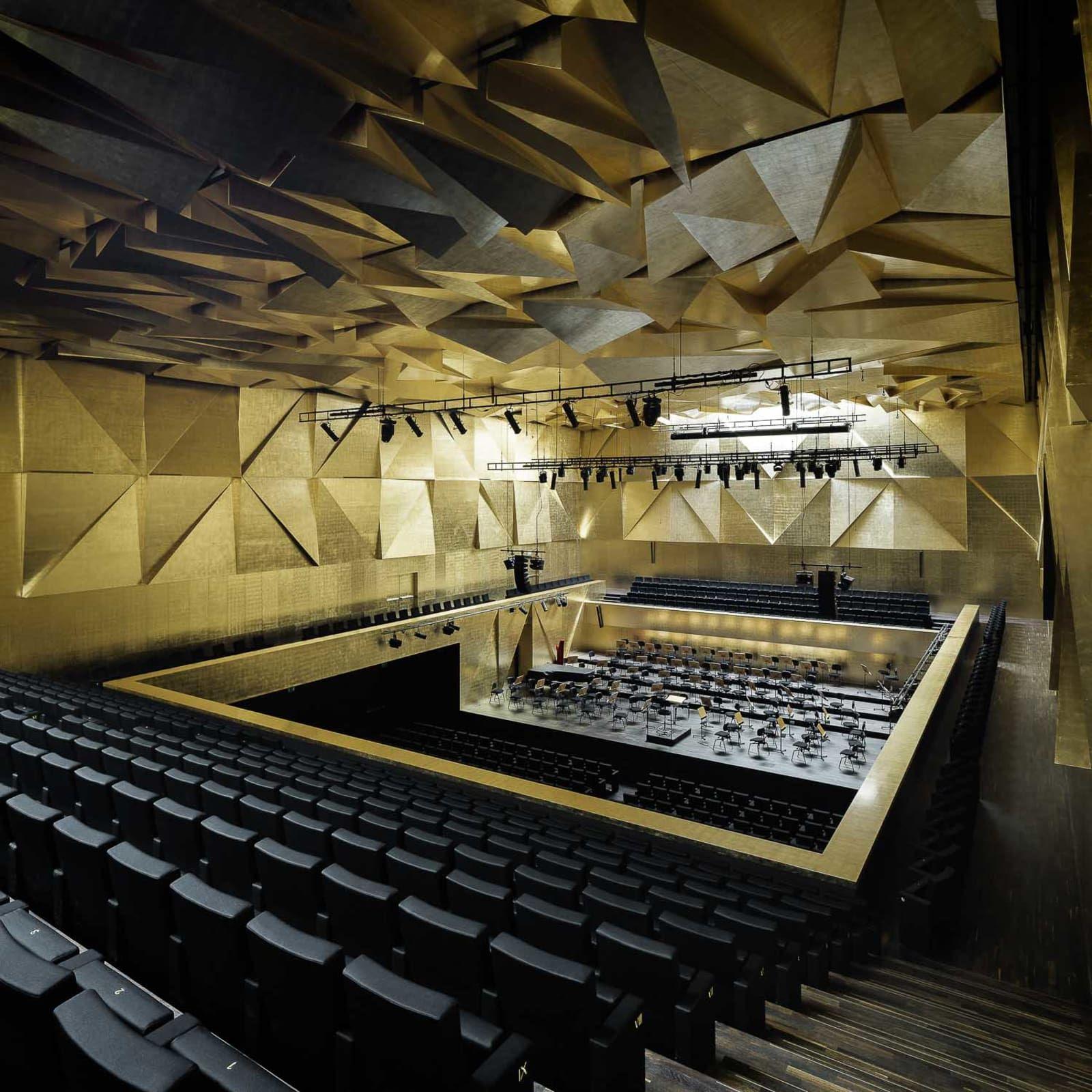 concert hall architecture Unfolding Sounds – Paris Concert Hall eVolo Architecture ° Halls ° Pinterest