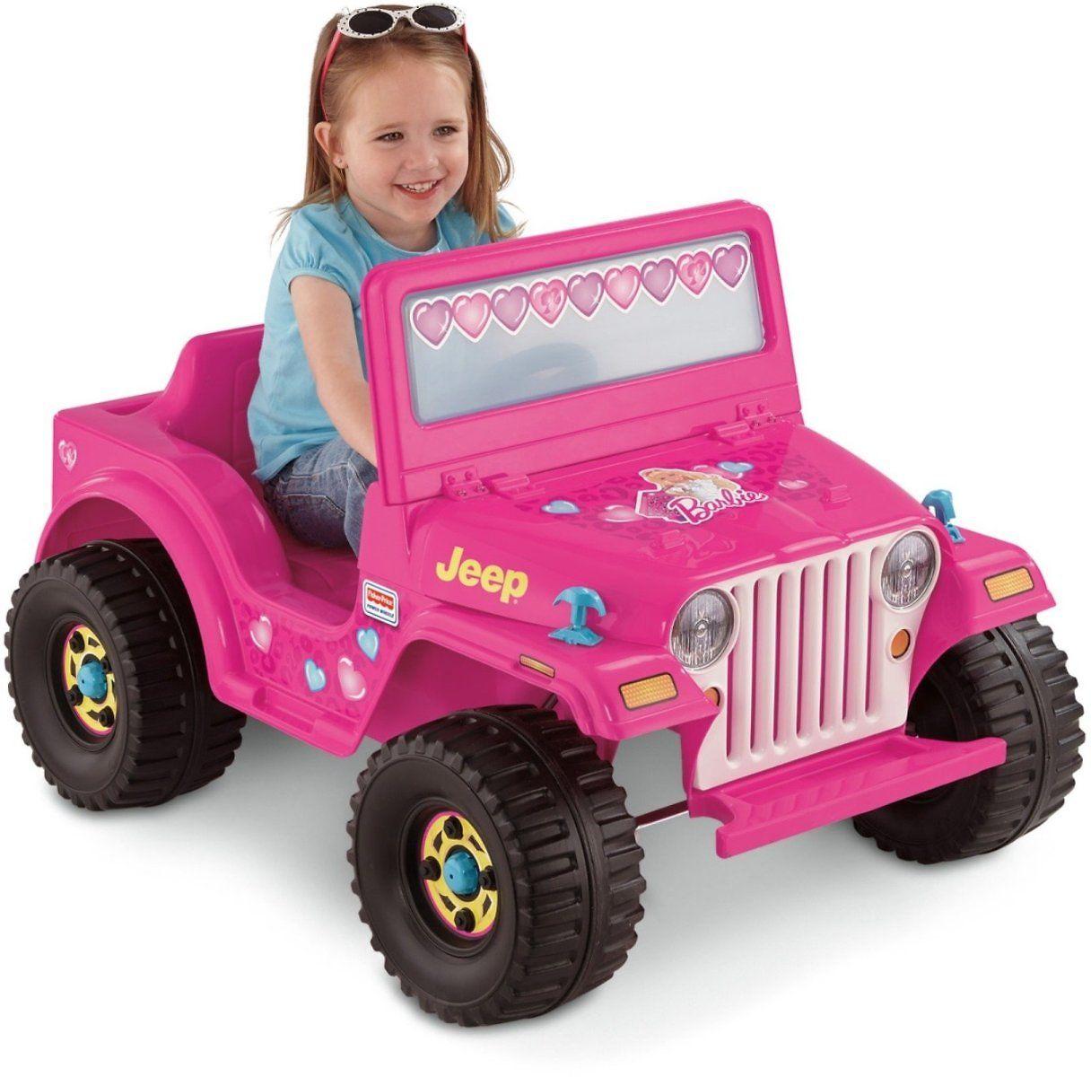 Amazon offers power wheels barbie jeep wrangler for free