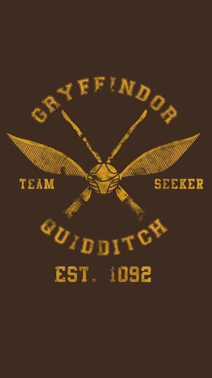 Gryffindor Quidditch Seeker IPhone 5 Wallpaper