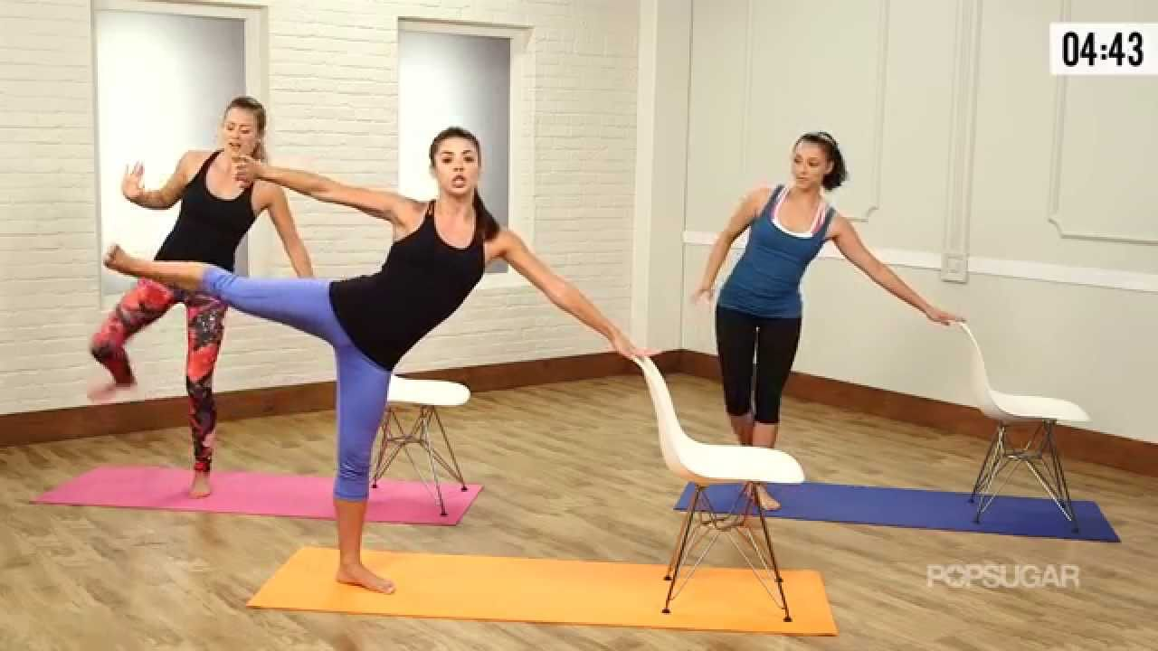 Day 17 Video 1: Cardio Barre Workout For the Best Full-Body Burn Ever | Class FitSugar