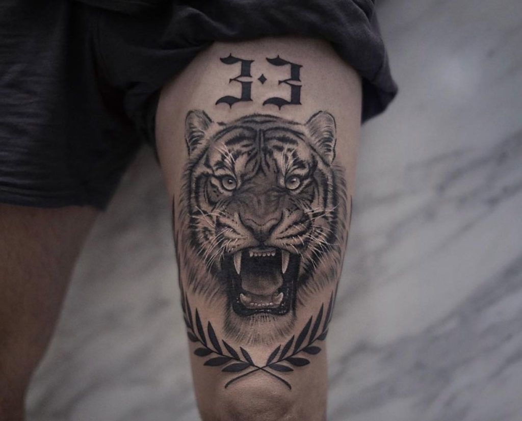 90 Tiger And Lion Tattoos That Define Perfection With Images