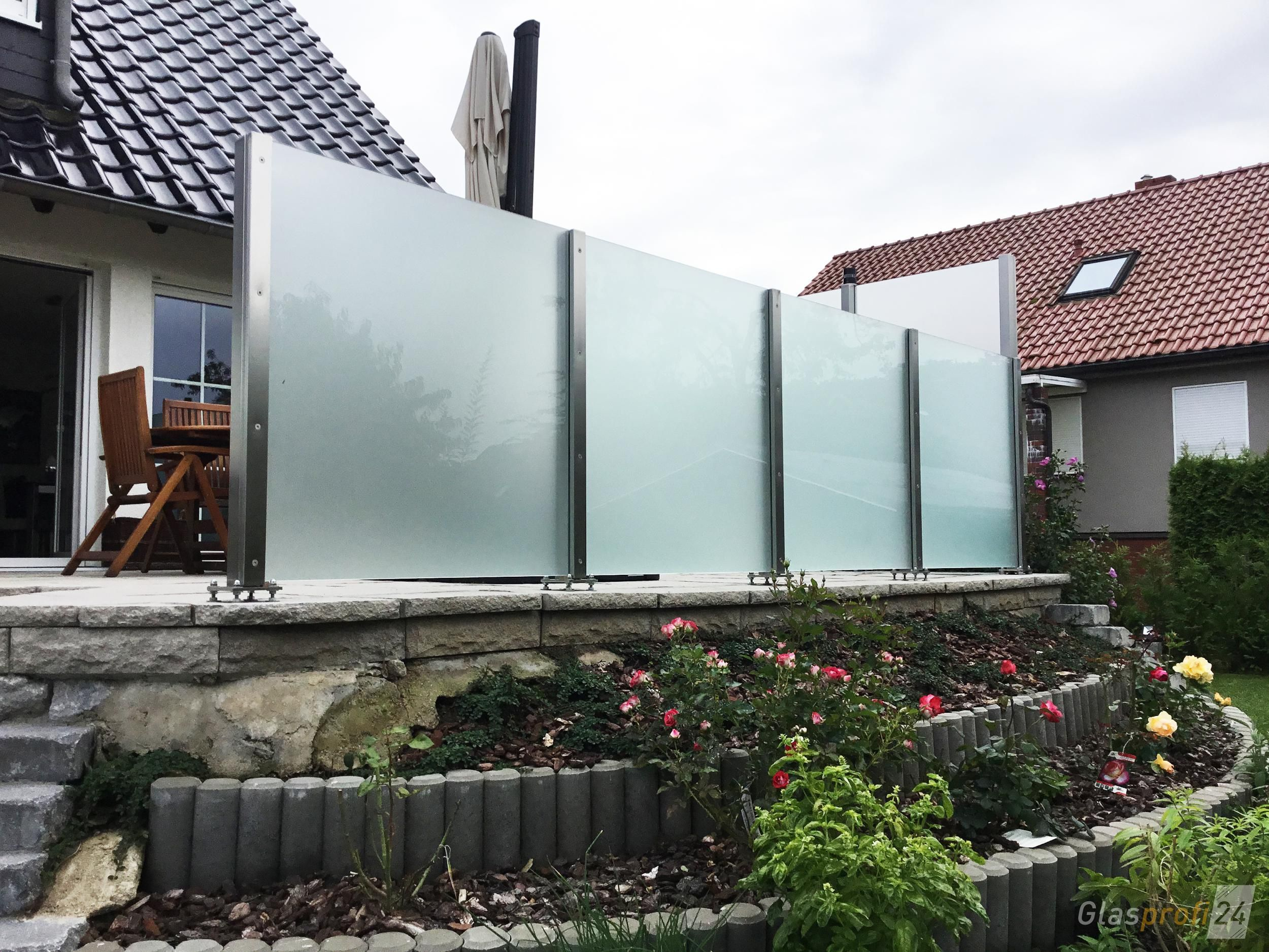 Wind Protection For The Terrace In 2020 Windschutz Sichtschutz