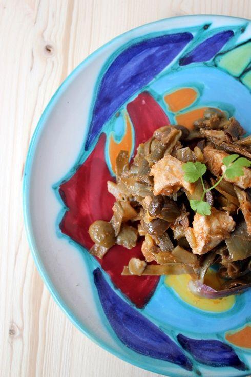 {DKS in cucina} La #ricetta della mia #caponata di #carciofi e ricciola