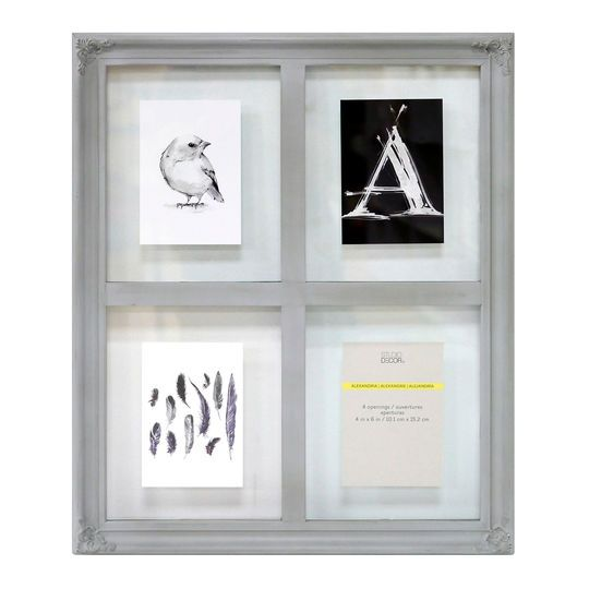 gray alexandria window collage frame by studio dcor - Window Collage Frame