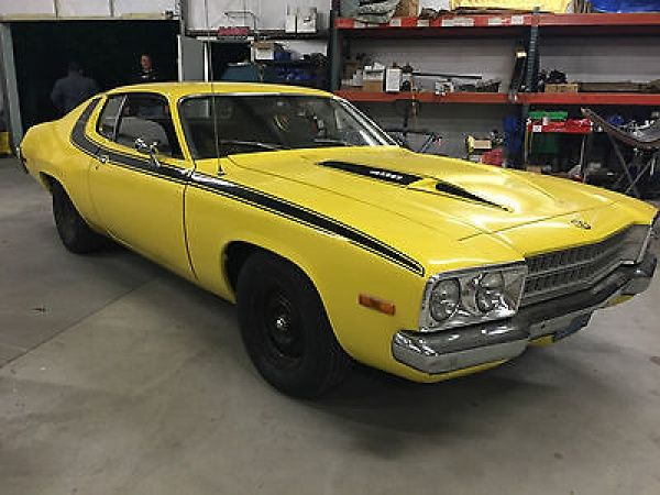 Road Runner 400 1973 Plymouth