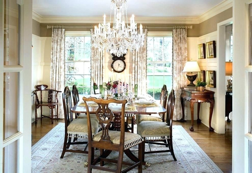 Traditional Dining Room Lighting Decoration Antique Ceiling ...