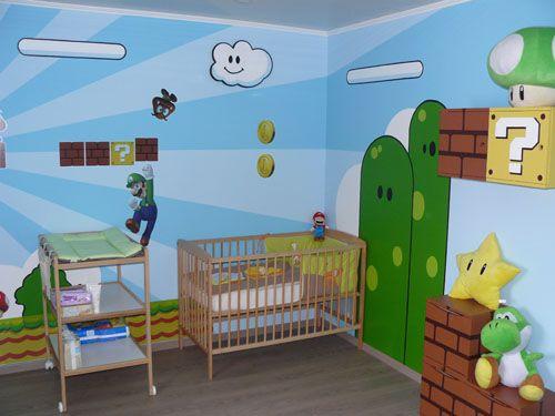 decoracion-mario-bros-1 | Más habitaciones infantiles temáticas ...