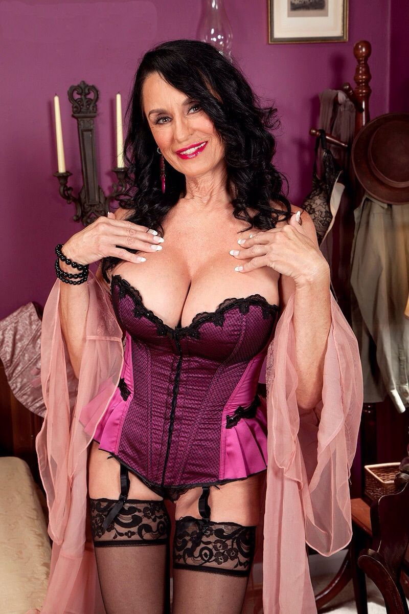 Busty mature in lingerie
