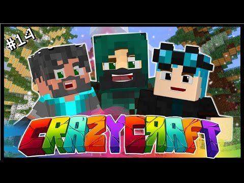 Thnxcya Crazy Craft 14 Minecraft Crafts Dantdm