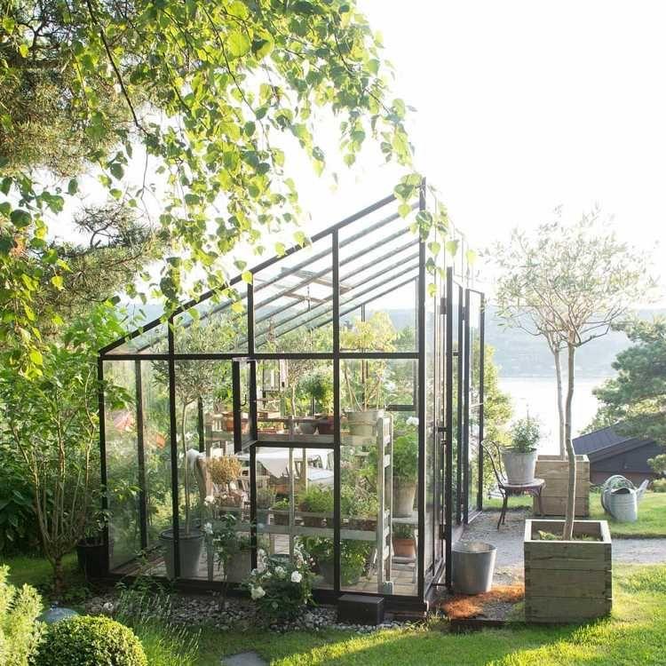 Serre de jardin et abri - 17 idées de design fantastique   Abri de ...