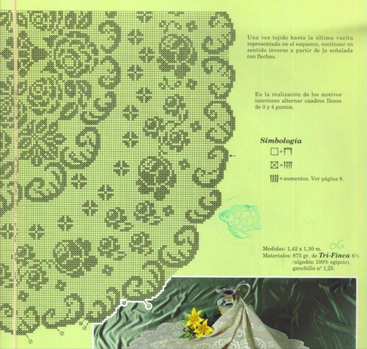 Gallery.ru / Фото #67 - Filet Crochet pour Point de Croix 2 - Mongia