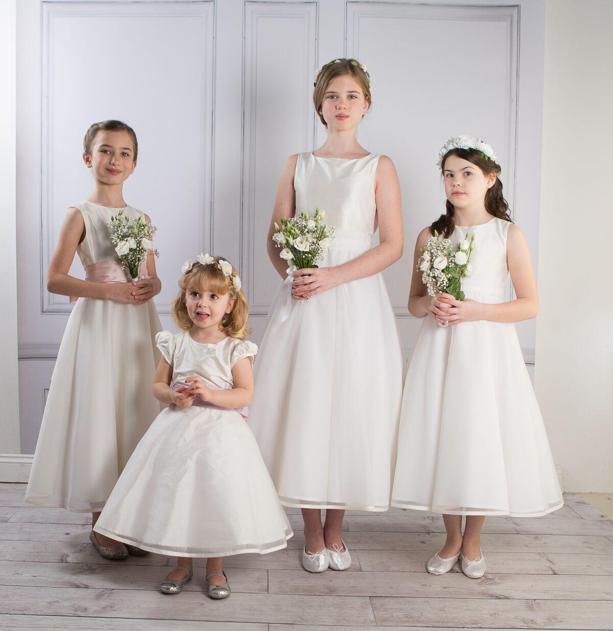 Tilly Silk Organza Dress In 2020 Flower Girl Dresses Kids