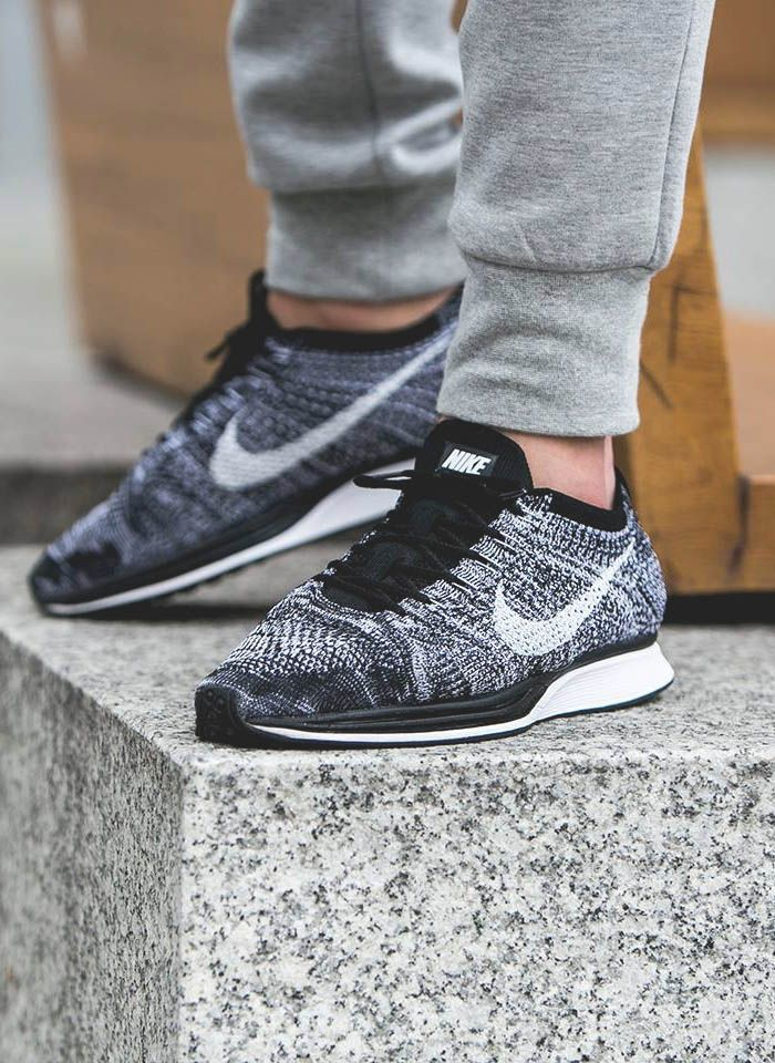 3958b6401cb0 The Best Men s Shoes And Footwear   Flyknit Racer Oreo -Read More –