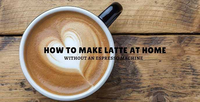 How to Make Latte At Home Without An Espresso Machine #espressoathome