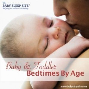 A bedtime that's too early may result in early-morning waking and screwy naps, but a too-late bedtime may make your baby overtired, which can lead to a whole host of sleep woes. #bedtimetips #bedtimescheduleforkids #bedtimesbyage