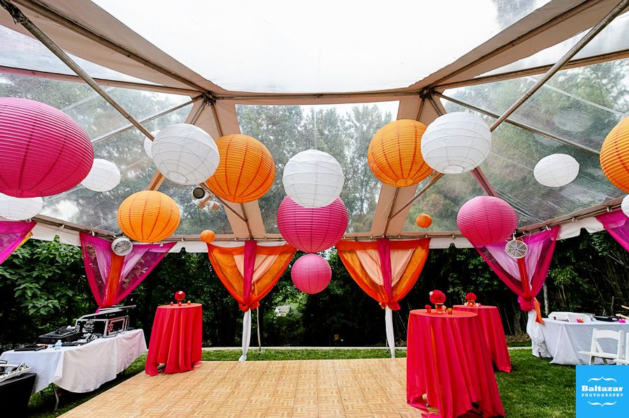 New Mehndi Decoration : Perfect sangeet mehndi and garba décor for backyard hall tent
