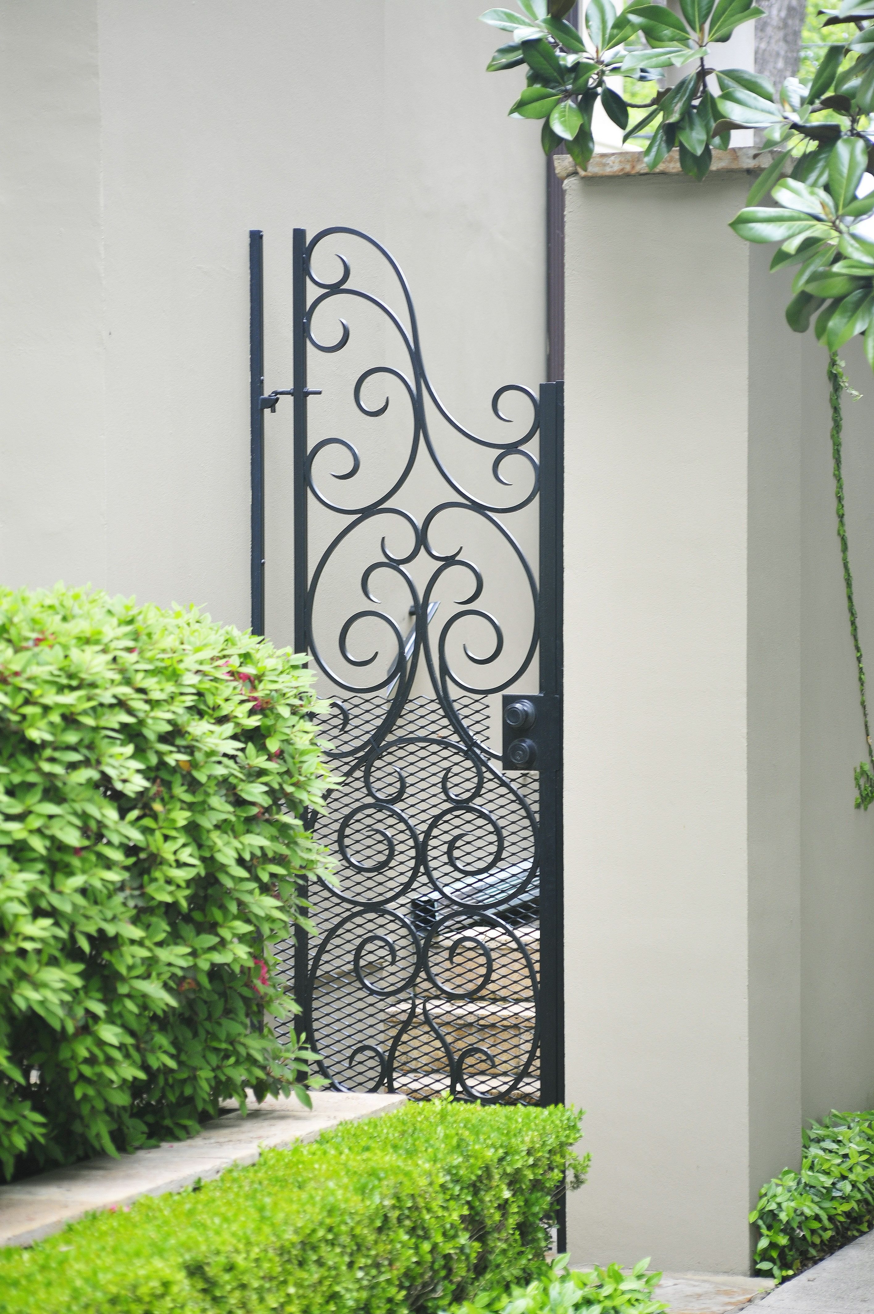 Gates Don T Have To Be Boring Use S C Scrolls To Create A Custom One Gate Design Concept Design Garden Gates