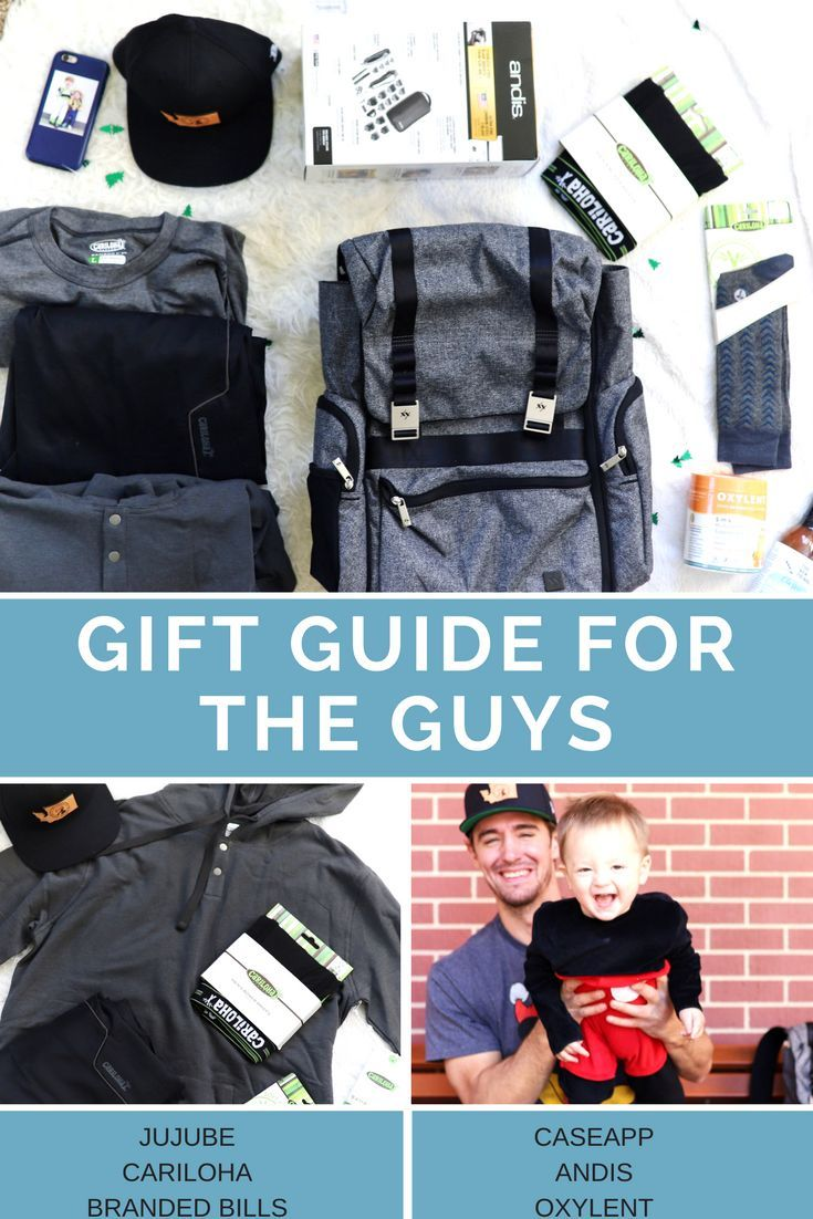 Christmas gift guide for the guys! Gifts for dad! | Managing Gifts ...